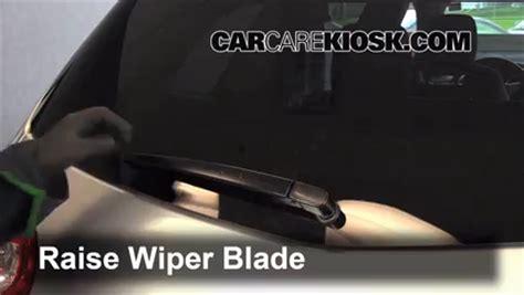 rear wiper blade change chevrolet traverse