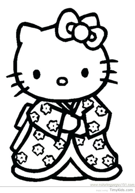 Hello Kitty Nerd Coloring Pages at GetColorings com Free