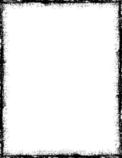 grunge border clip art page border  vector graphics