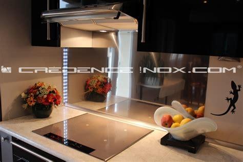 crédence inox miroir le décoration de crédence inox