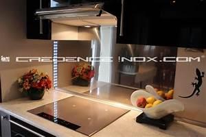 Credence Cuisine Moderne : cr dence inox miroir tout savoir sur la cr dence et le ~ Dallasstarsshop.com Idées de Décoration