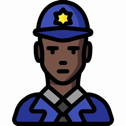 Icons Police Policeman Icon Copper Avatar Professions