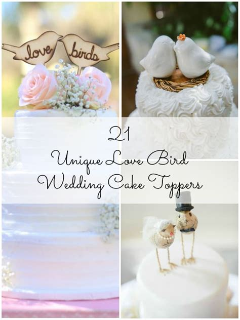 14 Word Cake Topper Ideas For Your Wedding Cake