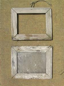 Cadre En Toile : vieux cadre de tableau deux en bois sur la toile de jute image libre de droits image 25591856 ~ Teatrodelosmanantiales.com Idées de Décoration
