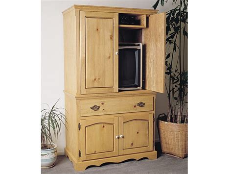 indoor furniture plans entertainment armoire plan