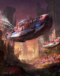 Sci-Fi Ship Concept Art