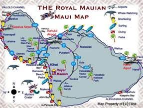 Maui Activities Map