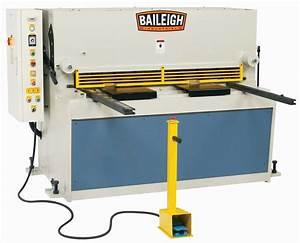 Baileigh SH-5208HD Hydraulic Shear