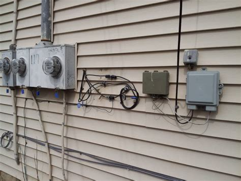 Exterior Cable Tv Wiring Box by How To Install A Dsl Line