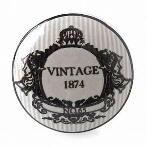 Bouton De Meuble Vintage : bouton de meuble vintage 1874 campagne shabby chic ~ Melissatoandfro.com Idées de Décoration
