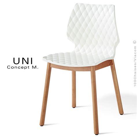 chaise blanche pied en bois chaise blanche pied bois fly palzon com