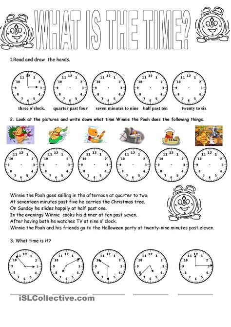 clock  images worksheets teaching clock clock
