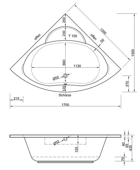 Badezimmermöbel Ums Eck by Eckwanne 130 X 130 X 43 5 Cm Bad Design Heizung Alles