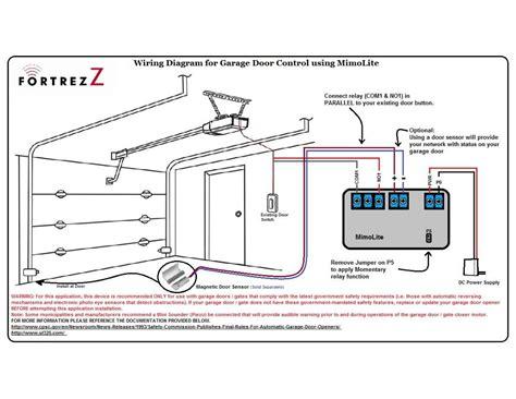 wiring for garage door safety sensors garage electric