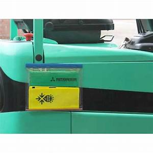 weather resistant document holder With forklift document holder