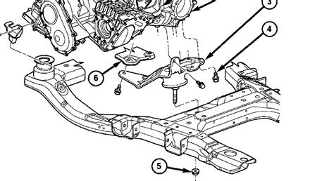 2004 Chrysler Pacifica Transmission Diagram by 2005 Chrysler Pacifica Engine Cradle Chrysler Auto