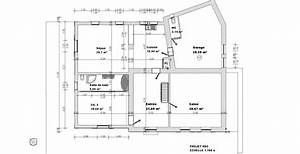 extension d39une maison ancienne With plan de maison 2 pieces 16 sebastien baldini