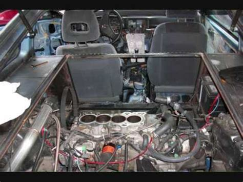 mid engine rwd conversion  turbo honda crx build drag