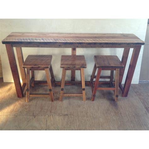 sofa table and stools sofa table design counter height sofa table awesome