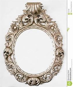Beautiful Retro Baroque Mirror Royalty Free Stock Image