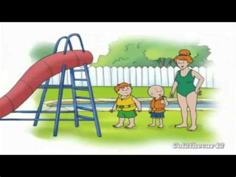 Caillou In The Bathtub Ytp by Ytp Caillou The B Tch