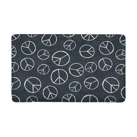 Peace Sign Doormat by Mkhert Hippy Pacific Sign Peace Sign Doormat Rug Home