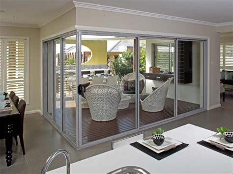 aluminium stacking doors patio doors entrance doors