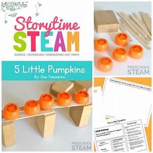 Storytime STEAM with 5 Little Pumpkins - Preschool STEAM