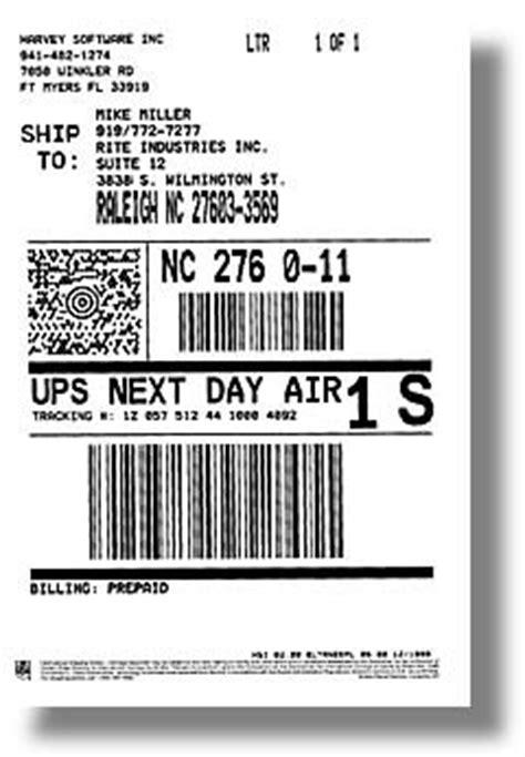 ups returns label delivery nda lbl   creative label