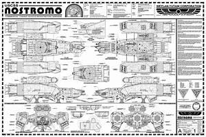 USCSS Nostromo by Hydride-Ion on DeviantArt