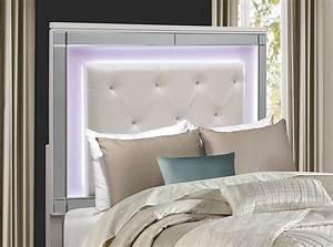 Homelegance, Alonza, Bedroom, Set, With, Led, Lighting