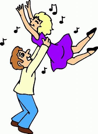 Dancing Clipart Clip Couple Dance Cliparts Couples