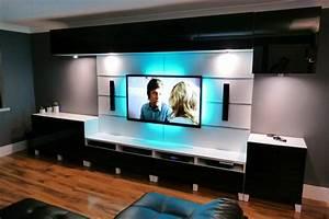 Ikea Besta Livingroom and kitchen - YouTube