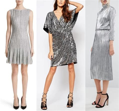 what colors should i wear what color shoes should i wear with a silver dress quora
