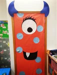 Halloween Monster Door Decoration Ideas