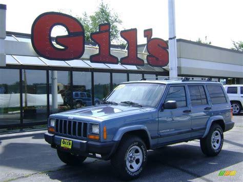 gunmetal blue jeep 1999 gunmetal pearl jeep cherokee sport 4x4 12719462