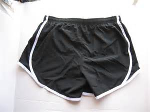 Black Nike Running Shorts Girls