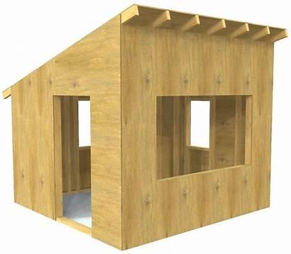 Playhouse Outdoor Plans Plan Hideaway Paul Play