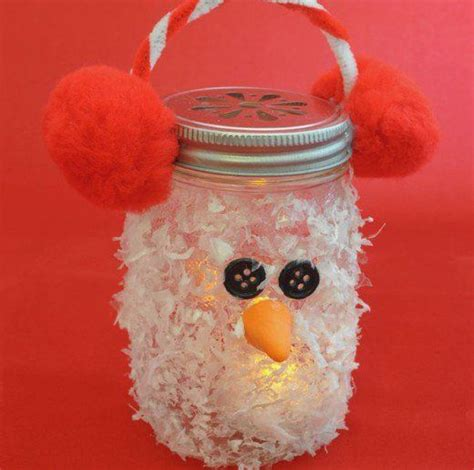 amazing craft ideas  seniors mason jar christmas