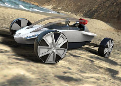 Future Transportation  Mercedes Benz Arrow Concept Car