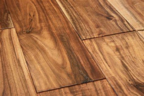 engineered acacia wood flooring acacia natural 9 16 x 4 3 4 hand scraped small leaf engineered hardwood flooring