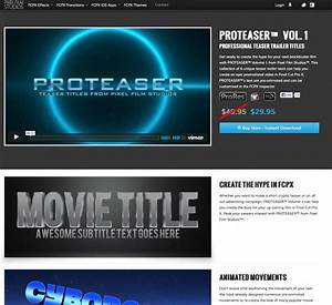 pixel film studios releases proteaser teaser trailer With fcpx trailer templates
