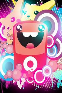 Cute Vector Color Animals Iphone 4 Wallpapers Free 640x960 ...