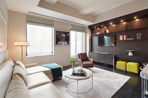 Living room interior ideas and examples. Loft: One Bedroom   The Marmara Park Avenue