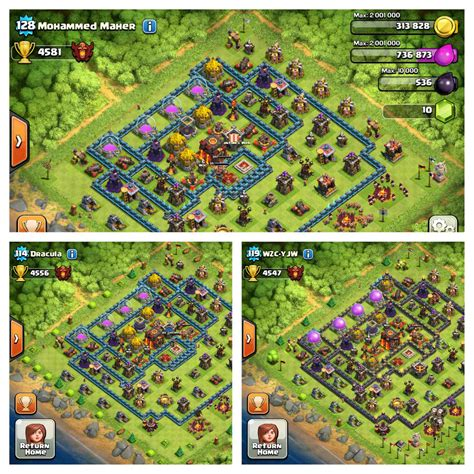 Clash Of Clans Boat Island by What S Going On With The Top Bases Clashofclans