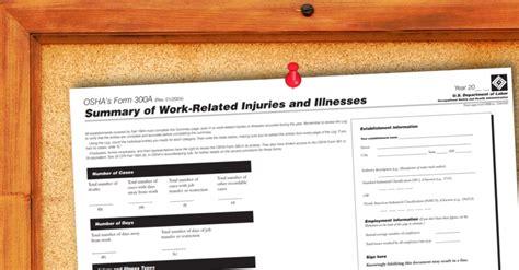 osha seeking  limit injury records employers  submit