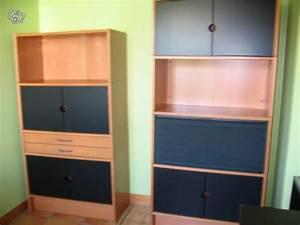 Meuble Bureau But : 2 meubles bureau ikea effektiv occasion ~ Teatrodelosmanantiales.com Idées de Décoration