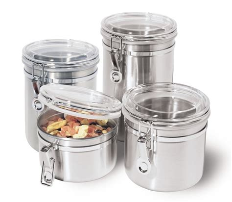 canister sets kitchen 5 best stainless steel kitchen canister set convenient