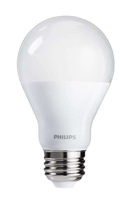 non dimmable led lights philips 455949 60 watt equivalent a19 led light bulb non