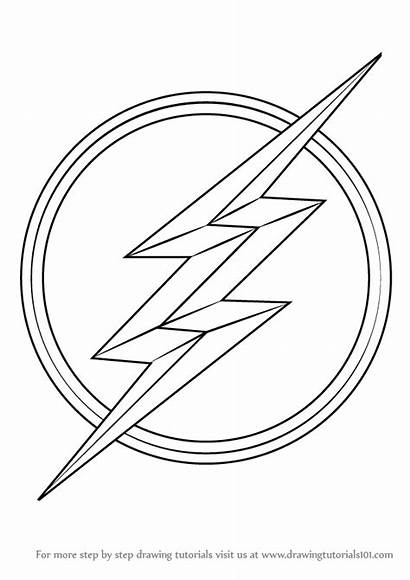 Flash Coloring Symbol Draw Sketch Drawing Template